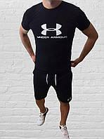 Мужской спортивный костюм (футболка и шорты) Under Armour, фото 1
