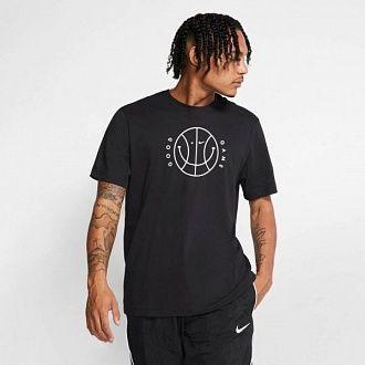 Футболка мужская баскетбольная Nike DRY TEE VERBIAGE 2 (CD1107-010)