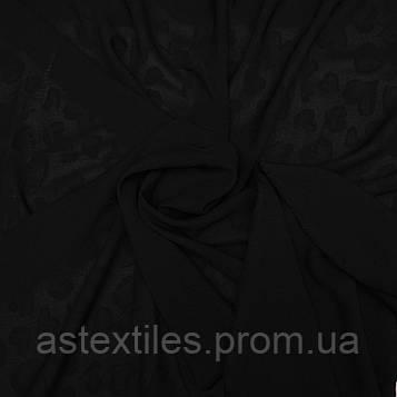 Креп-шифон (чорний)