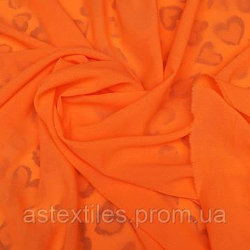 Креп-шифон (помаранчевий)