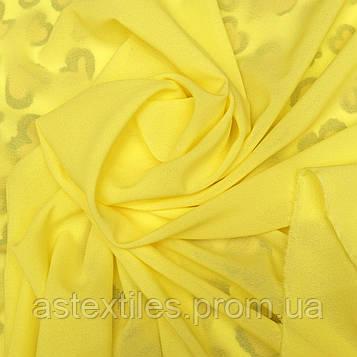 Креп-шифон (жовтий)