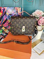 Модная женская сумка Louis Vuitton Metis Луи Витон Метис ЛЮКС