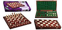 Шахматы 200801 Consul махагон 48х24х6см (король-90мм)