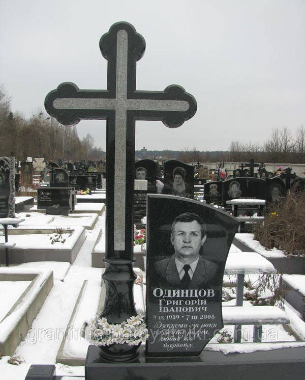 Крест на могилу № 858