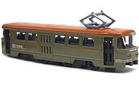 Іграшка Трамвай Металевий
