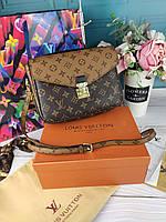 Женская сумка Louis Vuitton Metis Луи Витон в коробке