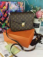 Женская брендовая сумка Louis Vuitton Metis Луи Витон