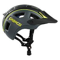 Велошлем Casco mtbe2 black-neonyellow matt (MD)