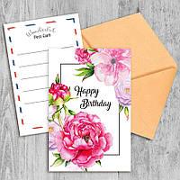 Поздравительная открытка Happy Birthday