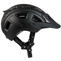 Велошлем Casco mtbe2 black matt (MD)