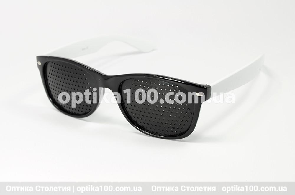 Окуляри тренажери для очей. Перфораційні окуляри