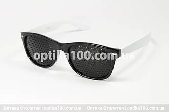 Окуляри тренажери для очей. Перфораційні окуляри, фото 2