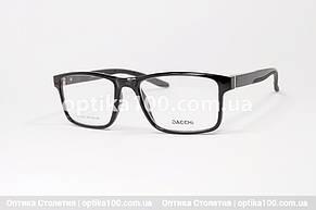 Чоловіча оправа для окулярів прямокутна . Дужки на флекс-системі. Зручна посадка, фото 2