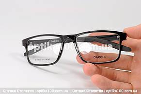 Чоловіча оправа для окулярів прямокутна . Дужки на флекс-системі. Зручна посадка, фото 3