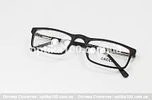 Очки половинки. Узкая прямоугольная оправа очков. Матовый пластик, фото 2