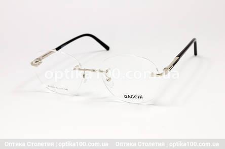 Круглая безободковая женская оправа для очков, фото 2