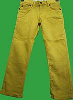 Цветные джинсы для мальчика (128-140) (Турция)