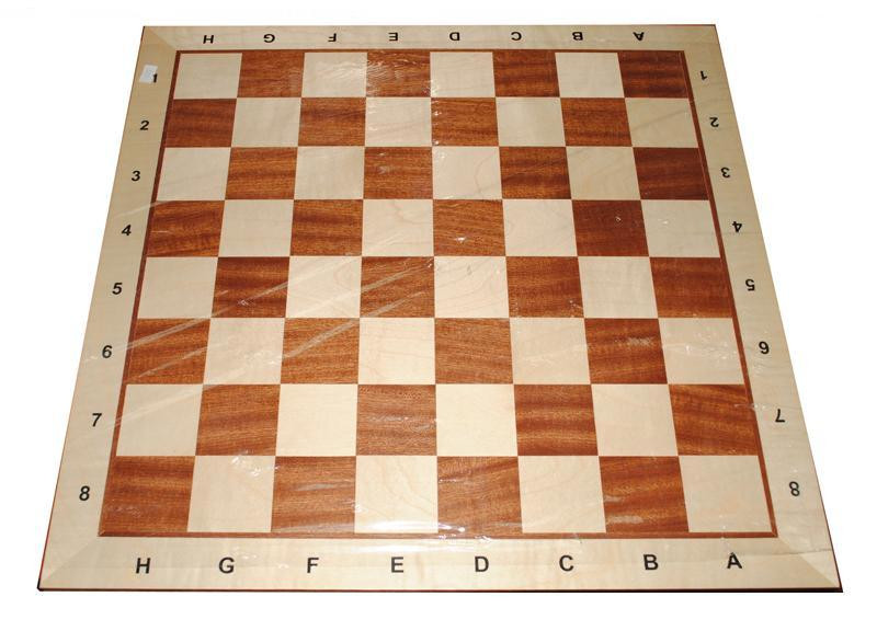 Шахматная доска 2052 №6 коричневые 54х54х2см