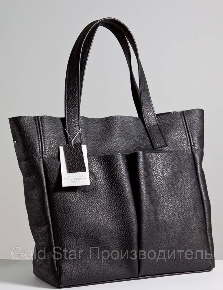 8a72b253e5de Большая кожаная женская сумка - My Furs магазин по пошиву меха и кожи в  Ивано-