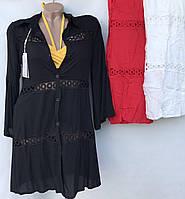 """Пляжна накидка жіноча на гудзиках розмір M-XL (3 цв) """"ZIMALETTO"""" недорого від прямого постачальника"""