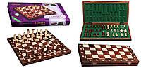 Шахматы 2008 Consul коричневые 48х24х6см (король-90мм)