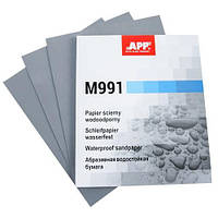 APP Наждачний папір водостійкий 230mm x 280mm P_240 (50 шт) Matador (991А0240)