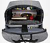 Шкільний рюкзак Bobby 2.0, 25 л, три подарунка, червоний, фото 6