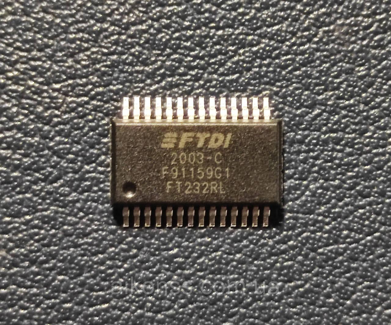 Мікросхема FT232RL SSOP-28 \ FTDI