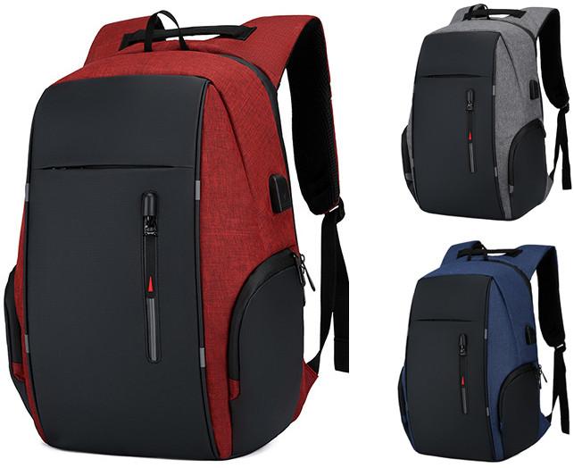 Шкільний рюкзак Bobby 2.0, 25 л, червоний, 4 кольори