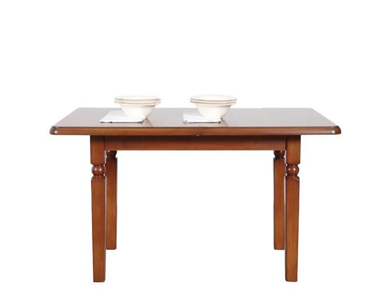 Стол обеденный деревянный 140 Natalia BRW вишня примавера