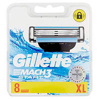 Сменные кассеты Gillette Mach 3 Start (8шт.)