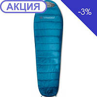 Спальник Trimm SUMMER steel blue (синий) 185 L
