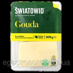 Сир нарізка Світовід гауда Swiatowid gouda 300g (Код : 00-00006124)