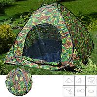 Палатка автомат Camo Green 200 х 200 х 130 см STENSON MH-3520-2G