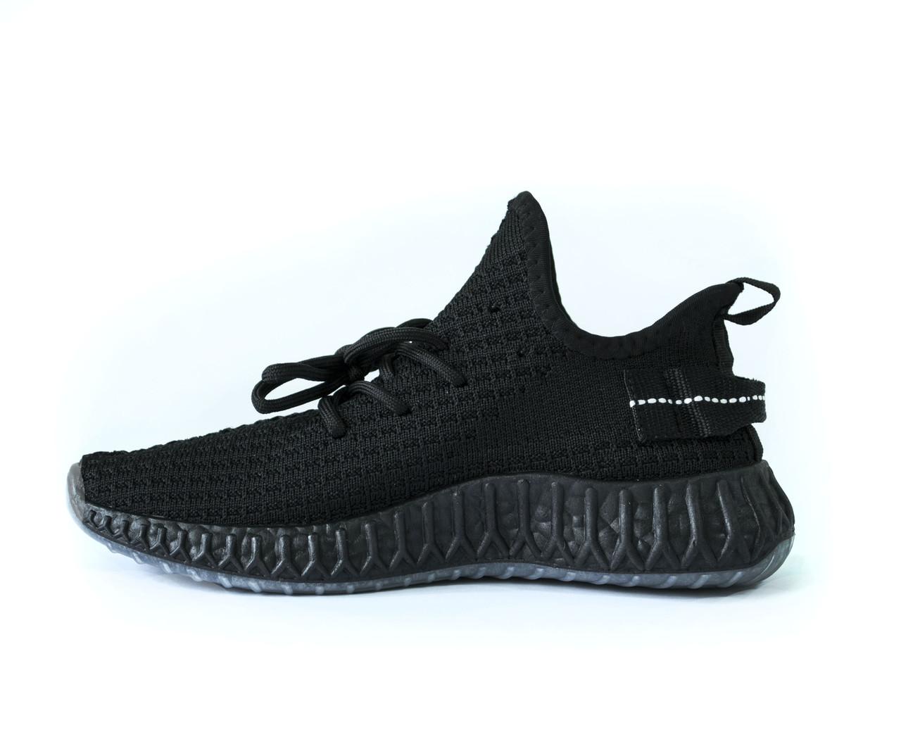 Кросівки чоловічі чорні літні текстиль ізі b-503