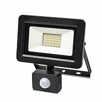 Прожектор LED Vestum с датчиком движения светодиодный 30W 2900Лм 6500K 175-250V IP65
