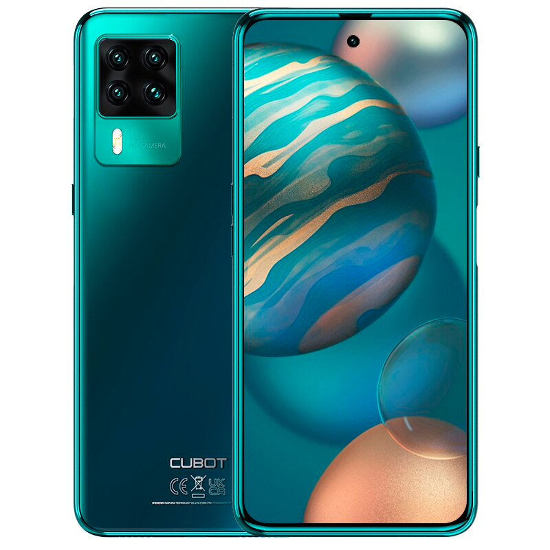 Cubot X50 8/128Gb green