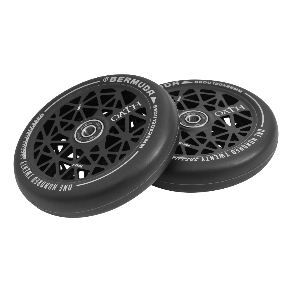Колеса OATH Bermuda 120мм x 26 мм - Anodised Satin Black