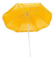 Одноцветный пляжный зонт
