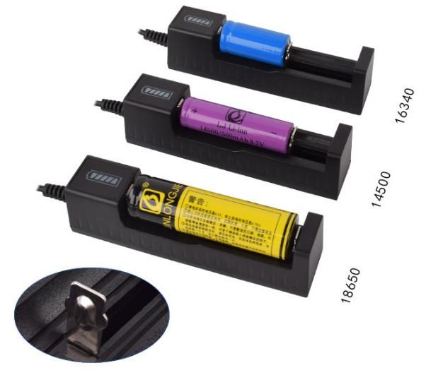 Зарядний пристрій PUJIMAX USB 18650 14500 16430