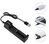 Зарядное устройство на 1 аккумулятор USB 18650 14500 16430, фото 3
