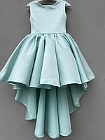 """Ошатне атласну сукню зі шлейфом для дівчинки """"Емма"""""""