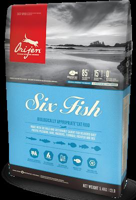 ORIJEN 6 FISH CAT&KITTEN Сухой корм для котов всех пород и всех стадий жизни 0.340 кг