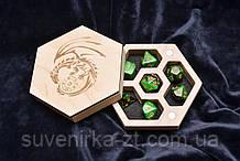 Коробка для игровых кубиков D&D (Dungeons and Dragons)