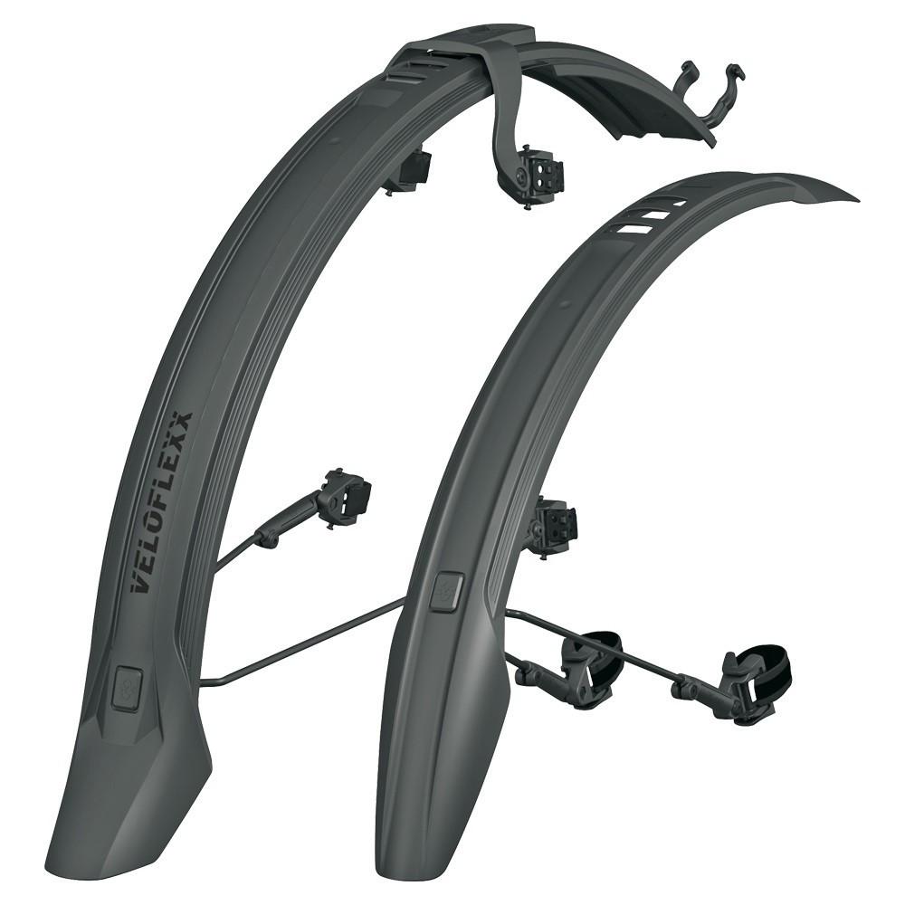 """Велосипедні крила / Велосипедни крылья SKS veloflexx 65mm 26-27,5"""" black 973179"""