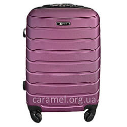 Валіза пластикова на 4х колесах міні  XS фіолетова   20х51х35 см   2.400 кг   27 л   FLY 1107