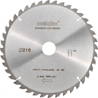 Пильні диски Metabo