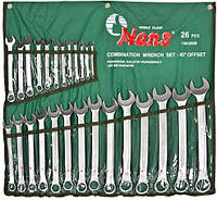 Набір ключів Hans 166326М, фото 1