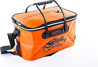 Сумка рибальська Tramp Fishing bag EVA Orange - L (50 Л) 55 х 30 х 30 см, фото 1