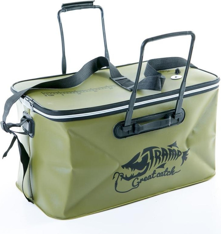 Сумка рибальська Tramp Fishing bag EVA Avocado - M (28 Л)
